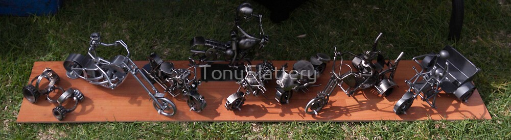 Miniature Sculptures  by TonySlattery