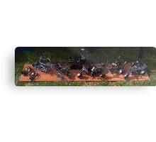Miniature Sculptures  Metal Print