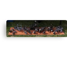 Miniature Sculptures  Canvas Print