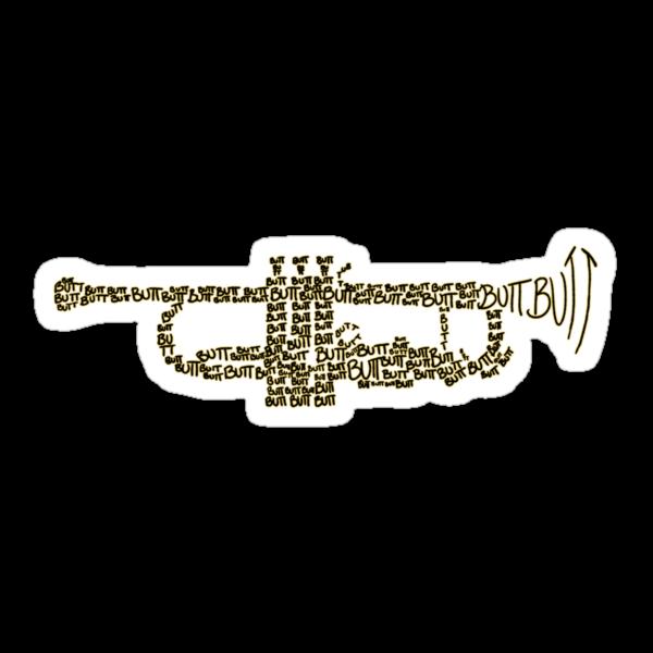 Butt Trumpet by greatbritishchz