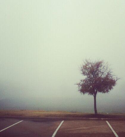 Misty Tree Sticker