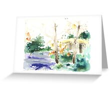 Vermont Forest Greeting Card
