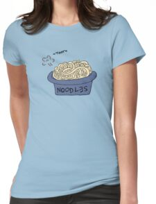 Tootsie Noodles Womens Fitted T-Shirt