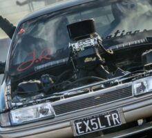 EX5LTR Tread Cemetery 2 Burnout Sticker