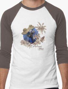 parrot in a hat 8 Men's Baseball ¾ T-Shirt