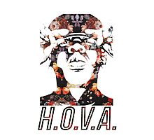 Jay Z HOVA- Floral Photographic Print