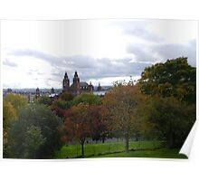 Art Galleries, Glasgow Poster