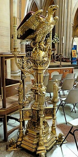 Truro Cathedral Lectern by Woodie
