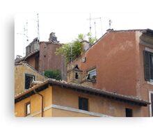 Italian roof tops Canvas Print