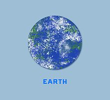 Earth - minimalist poster by sfrost