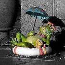 Summer Frog by rosaliemcm