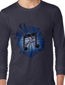 Vinyl scratch Explosion Long Sleeve T-Shirt