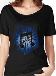 Vinyl scratch Explosion Women's Relaxed Fit T-Shirt