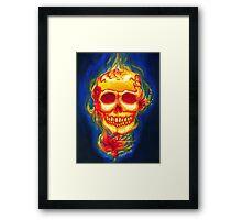 Day of the Dead Scarleta Framed Print