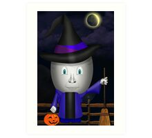 Have A EGGciting Halloween! Art Print