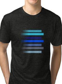 Blue Stripes Tri-blend T-Shirt