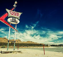 Mojave Desert Sign by Graham Gilmore