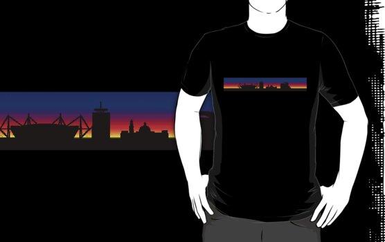 Cardiff Skyline by MrTWilson