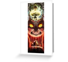 Majora's Mask Greeting Card