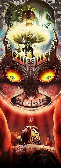 Majora's Mask by Lonky Lonk