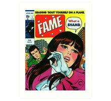 Love Me by The 1975 (Fame) Comic  Art Print