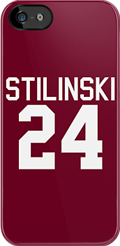 Stiles Stilinski's Jersey - white text by sstilinski