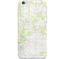 USGS Topo Map Washington State WA Mead 242269 1973 24000 iPhone Case/Skin