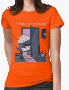 Things that go bump in the night Womens Fitted T-Shirt