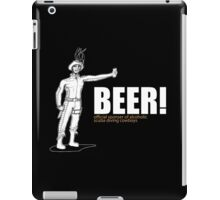 Beer Official Cowboys iPad Case/Skin