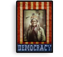Democracy Canvas Print