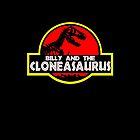 Billy and the cloneasaurus - The Simpsons Cartoon by cucumbertee