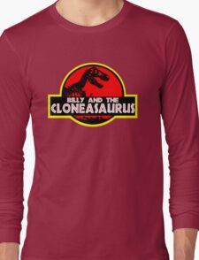 Billy and the cloneasaurus - The Simpsons Cartoon Long Sleeve T-Shirt