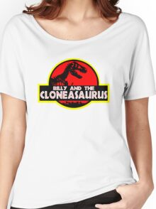 Billy and the cloneasaurus - The Simpsons Cartoon Women's Relaxed Fit T-Shirt