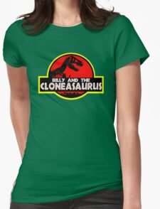 Billy and the cloneasaurus - The Simpsons Cartoon Womens Fitted T-Shirt