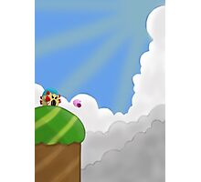 Kirby on Mt. Dedede Photographic Print