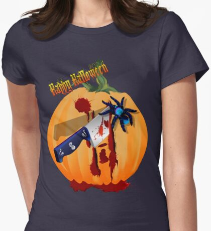 The Bleeding Pumpkin Womens Fitted T-Shirt
