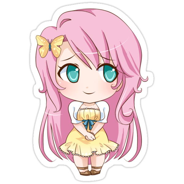 Fluttershy Gijinka by PocketCucco