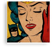 The Bat and Amazon Canvas Print