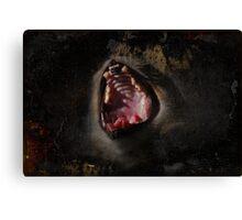 Scream!! Canvas Print