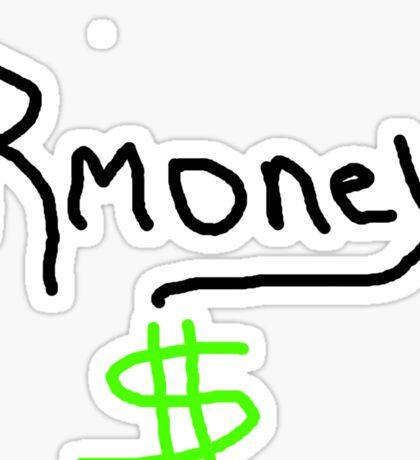 Mitt Romney Rmoney  2012 Sticker