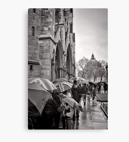 Waiting for Westminster - London - Britain Canvas Print
