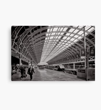 Paddington Platform 9 - London - Britain Canvas Print