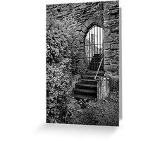Sneak in the back entrance - Kenilworth - Britain Greeting Card