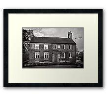 Kenilworth House and School - 1724 - Britain Framed Print