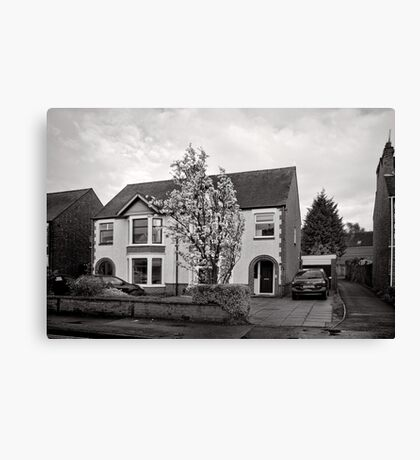 Pleasant Street - Kenilworth - Britain Canvas Print