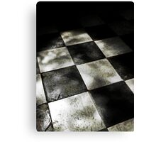 A Chequered History Canvas Print