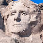 Thomas Jefferson, Mount Rushmore National Memorial  by Alex Preiss