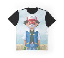 The Son of Pokemon Graphic T-Shirt