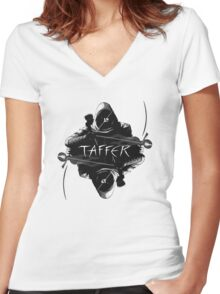 TAFFER (Thief game series reference) v1 Women's Fitted V-Neck T-Shirt