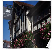 The Swan, Lavenham ( 1:1 version ) Poster